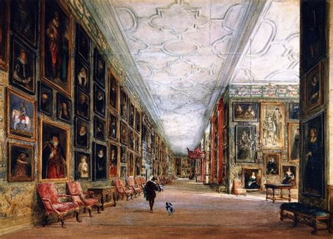 Grey And White Rooms the athenaeum the long gallery hardwick hall