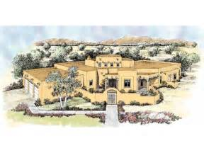 pueblo house plans home plan homepw14799 2966 square foot 4 bedroom 3