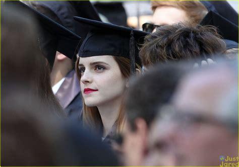 emma watson graduation emma watson graduates from brown university see the pics