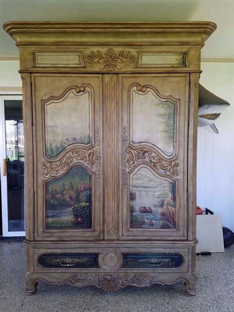 thomasville armoire rare ernest hemingway paris collection armoire