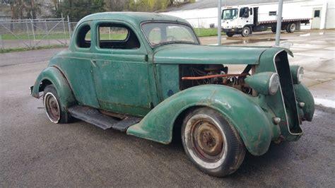 Log Barn Plans Rustomod 1936 Plymouth Coupe