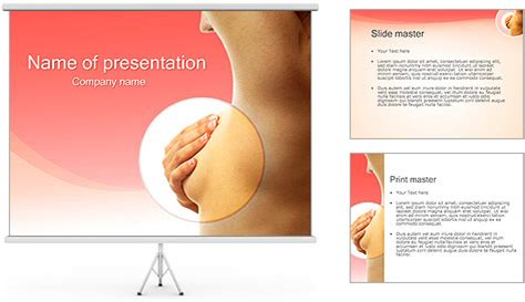 Breast Cancer Powerpoint Template Backgrounds Id Breast Cancer Powerpoint Presentation Templates