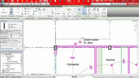 tutorial de revit youtube tutorial 8 revit arquitectura columnas youtube