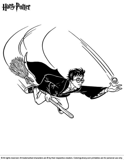 harry potter playing quidditch coloring pages 194 best coloring pages for kids images on pinterest