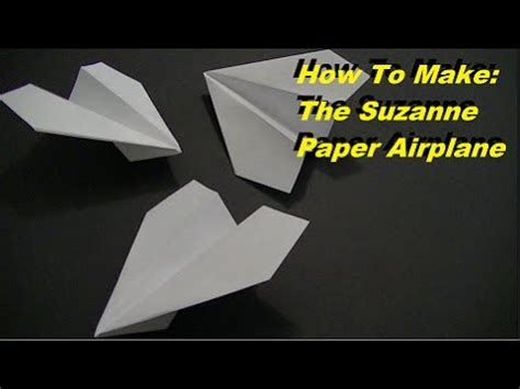 How To Make A World Record Paper Airplane Glider - how to make the world record paper airplane for distance