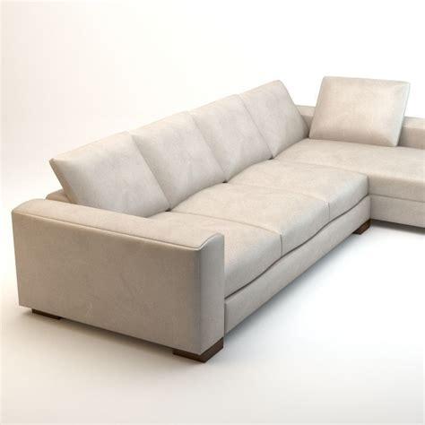 hotel sofa asnaghi leonardo grand hotel sofa 3d model max obj 3ds fbx