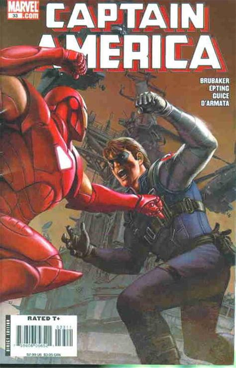 winter of and iron books captain america 33 2008 iron vs winter soldier marvel
