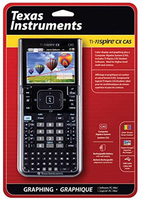 texas instruments nspire cx cas texas instruments nspire cx cas graphing calculator