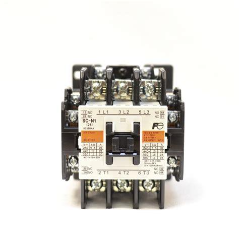 fuji magnetic contactor sc n1 3a2a2b coil 110v 120v