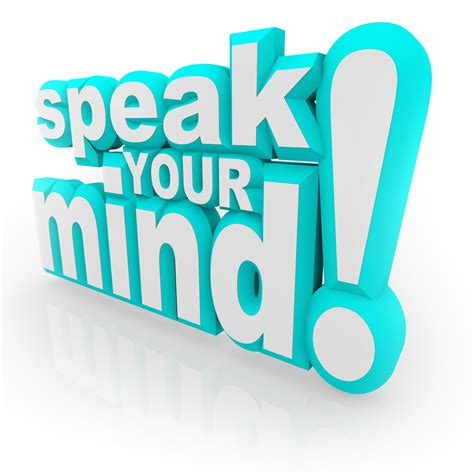 Your Speaks Your Mind afraid to speak your mind in your relationship