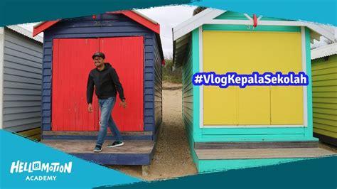 Mini Warna Warni spot turis dari pantai rumah mini warna warni