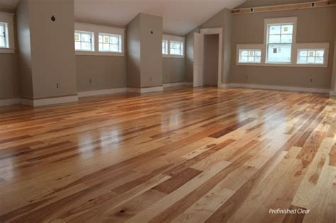 hardwood unfinished hickory and ps