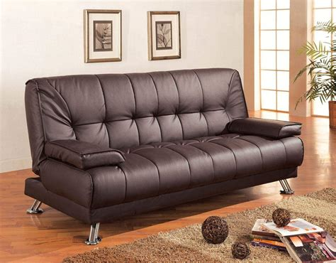 Sofa Beds Clearance Sofa Beds Faux Leather Convertible Sofa Bed With Removable Armrests Quality Furniture At