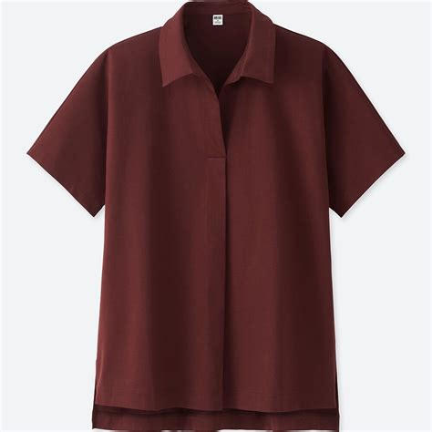 Uniqlo Formal Shirt uniqlo oversized skipper sleeve polo shirt