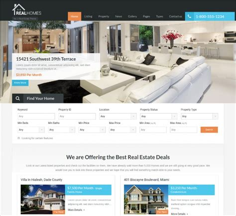 bootstrap templates for property 50 best bootstrap wordpress themes templates design