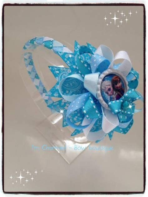 Headband Top Baby Frozen 59 best images about objetos para el pelo on bow clip baby hair and frozen