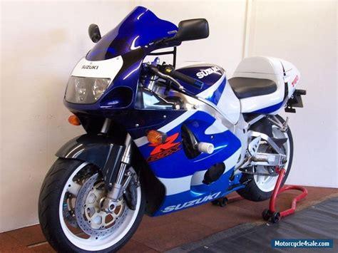 Suzuki Gsxr 750 Gas Mileage 1999 Suzuki Gsxr 750 X For Sale In United Kingdom