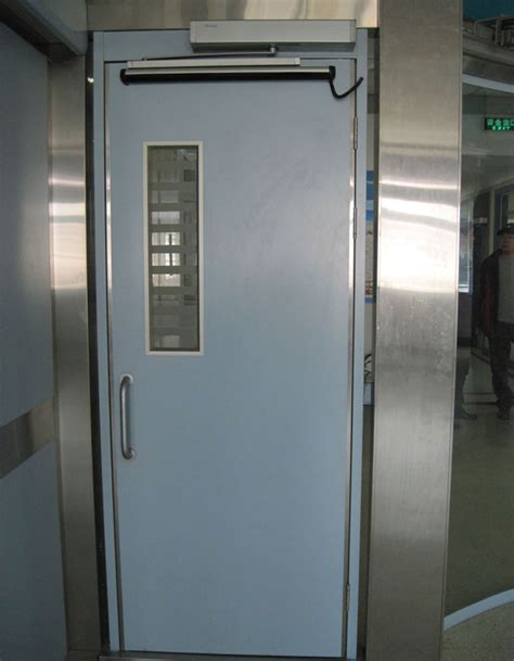 stainless steel hospital swing doors automatic swing hospital door swing air tight door