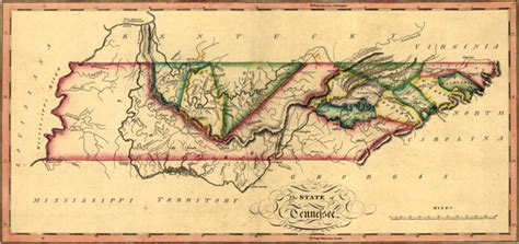 history of lewis county kentucky classic reprint books tennessee 1817 samuel lewis historic map reprint