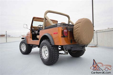 jeep eagle lifted 1978 golden eagle jeep cj7 v8 lifted auto ps pb rust free