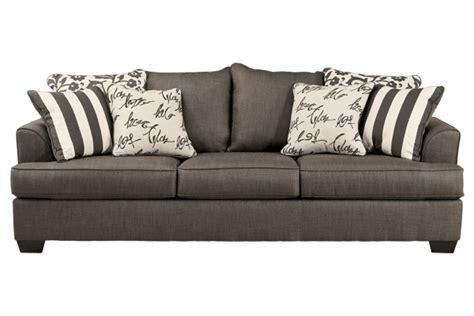 levon charcoal sofa charcoal sofa purchase furniture store