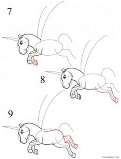 unicorn step by step how to draw a unicorn cool2bkids