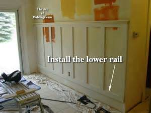 How Tall Should Wainscoting Be by 11 Wainscoting 100 Tall Craftsman Style The Joy Of