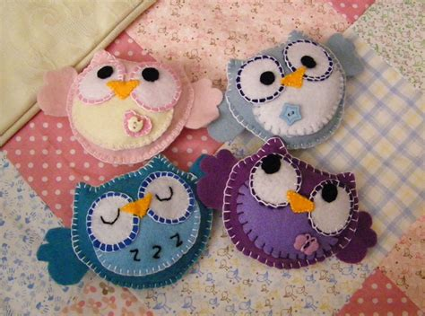 Pattern For Felt Owl Mobile | patterns pregnancy baby child
