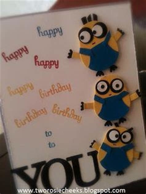 minion greeting card template 1000 images about cards on cards minion