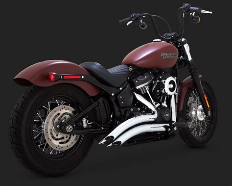 Exhaust For Harley Davidson by Vance Hines Softail Exhausts