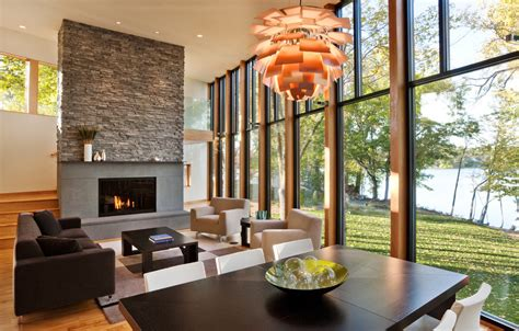 modern living room with fireplace ledgestone fireplace living room contemporary with coffee