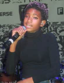 willow smith dons 90s inspired tattoo choker necklace as