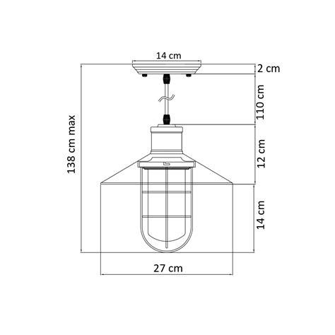 oule filament e14 1264 suspension industrielle grille vintage yura
