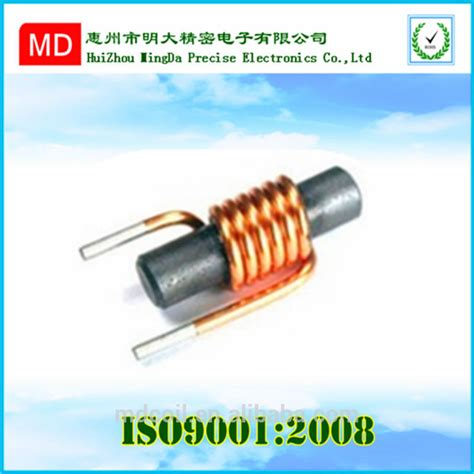 ferrite inductor antenna ferrite rod antenna rf coil for am rm radio magnetic bobbin copper wire antenna with high