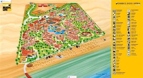 el magic resort map карта отеля imprerial шарм эль шейхl hotel map
