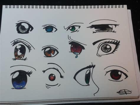 imagenes ojos anime dibujando 12 ojos anime manga youtube
