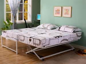 Daybed To King Bed With Pop Up Trundle Frame Spillo Caves