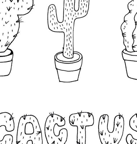 dibujo de cactus con sombrero para colorear un pedacito de cactus la ilustraci 243 n que hurra nos ofrece