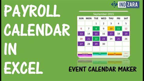 biweekly payroll calendar excel payroll calendars