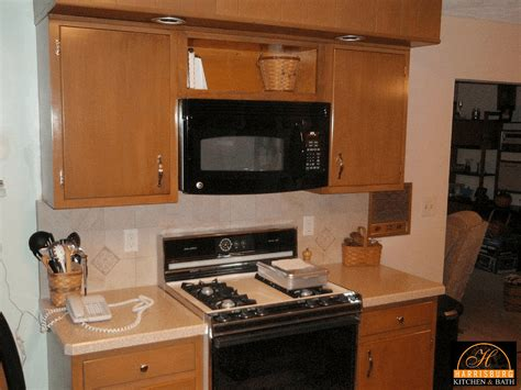 Backsplash Panels For Kitchen retrofitting kitchen for over the range microwave