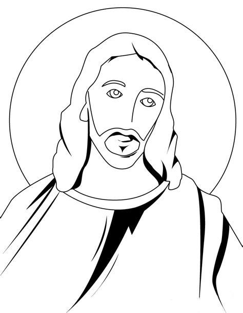 imagenes jesucristo para imprimir desenho de face de jesus para crian 231 as para colorir