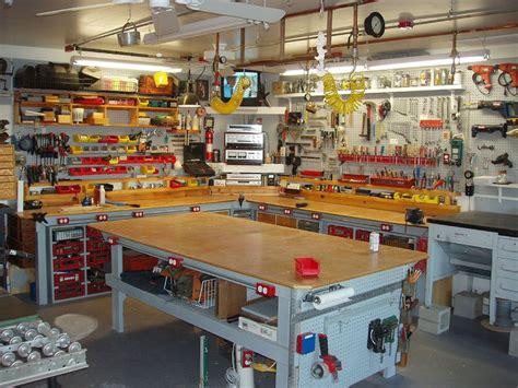 organize garage workshop well organized workshop garage ideas