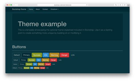 bootstrap color themes github thijskok bootstrap solarized theme bootstrap