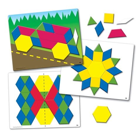 pattern blocks in kindergarten 17 best images about geometry on pinterest kindergarten