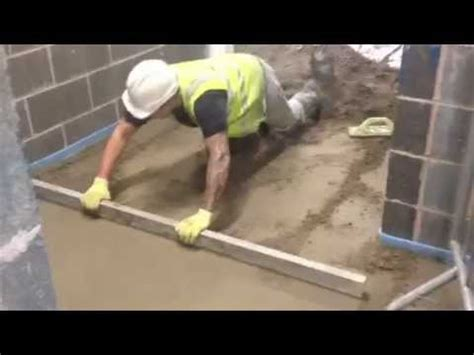How To Screed A Floor Level by How To Lay Floor Screed Call 01204 521 151 Installing