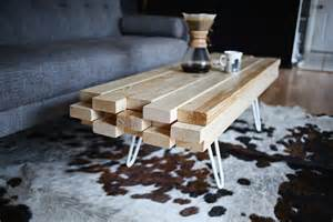 Diy Coffee Tables Diy Wooden Coffee Table A Beautiful Mess