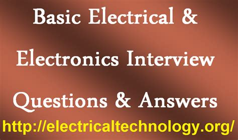 analog layout interview questions pdf basic electrical electronics interview questions