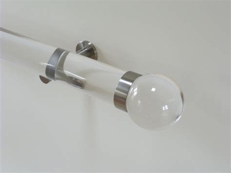 clear plastic curtain rods 1000 images about poles finials on pinterest track