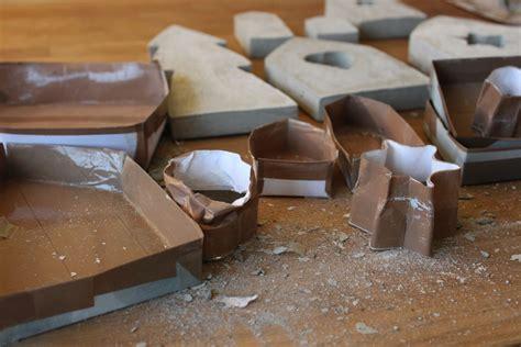 beton gießen basteln einzigartig basteln beton selber mischen design ideen