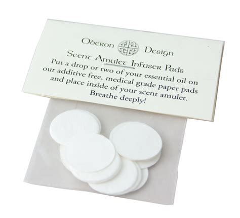 booth design refill pads scent amulet refill pads oberon design